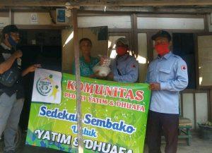 Komunitas Peduli Yatim dan Dhuafa Adakan Bhakti Sosial di Desa Silo