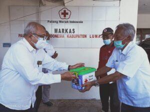 PMI Jatim Beri Bantuan Pada Empat Kabupaten Terdampak Gempa