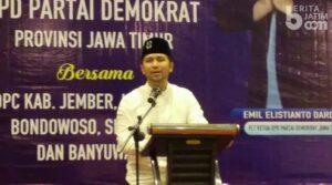 Emil Dardak Larang Demokrat Serang Bupati Jember di Hadapan Publik