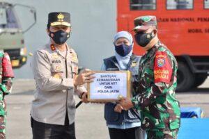 Forkopimda Jatim Berangkatkan KRI Tanjung Kambani 971 Bermuatan Bantuan untuk Bencana di Flores NTT