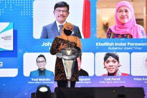 Gubernur Jatim: Modul Literasi Digital Tingkatkan Partisipasi Masyarakat