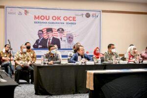 Kerjasama Pemkab Jember dengan OK OCE Indonesia Untuk Tingkatkan Perekonomian Masyarakat