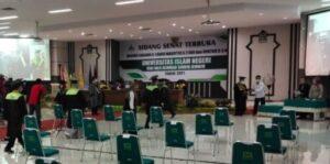 Diduga Langgar Prokes Covid-19, Wisuda 200 Mahasiswa UIN KHAS Berlangsung Singkat