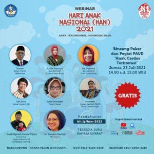Kemeriahan di Hari Anak Nasional 2021