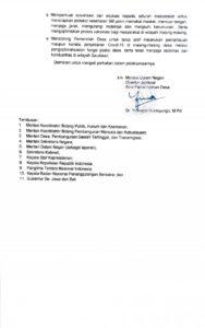 Instruksi Mendagri Tentang Penundaan Pelaksanaan Pilkades Serentak  Akan Dijalankan Oleh Bupati Jember
