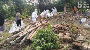 NU Kencong Jember Membentuk Relawan Pemakaman Covid Bernama Laskar Ijo