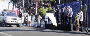 """Bupati Memberangkatkan Rombongan Jelajah Wisata """"Fun Champ 2""""Sebagai Awal New Normal Tourism di Jember"""