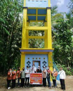 Program penyediaan Air Minum dan Sanitasi Berbasis Masyarakat( Pamsimas) di Desa Bangsalsari Dusun Kalisatan