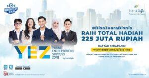 Yuk Raih Hadiah Ratusan Juta pada Kompetisi Bisnis di bank bjb!