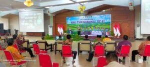 Bupati Jember, Hendy Siswanto Menghadiri Peringatan Hari Tani Nasional Ke-61