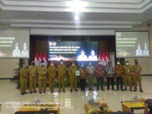 BPN Jatim Serahkan 17 Sertifikat Aset Daerah Pemkab Jember