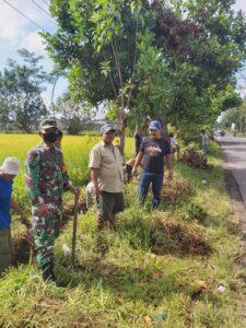 Kerja Bakti Warga Dusun Besuk Desa Wirowongso